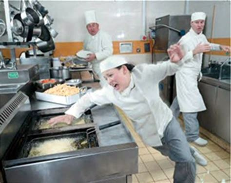 Exles Of Accidents In The Kitchen by Stf Hazards In Workplaces Dangers Of Slips Trips And Falls