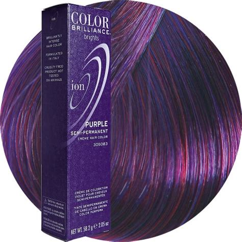 sally supply semi permanent hair color ion color brilliance brights semi permanent hair color