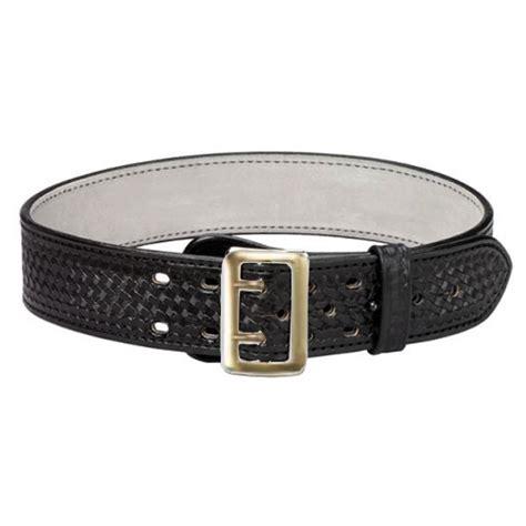 k 702 suede lined sam browne duty belt basketweave