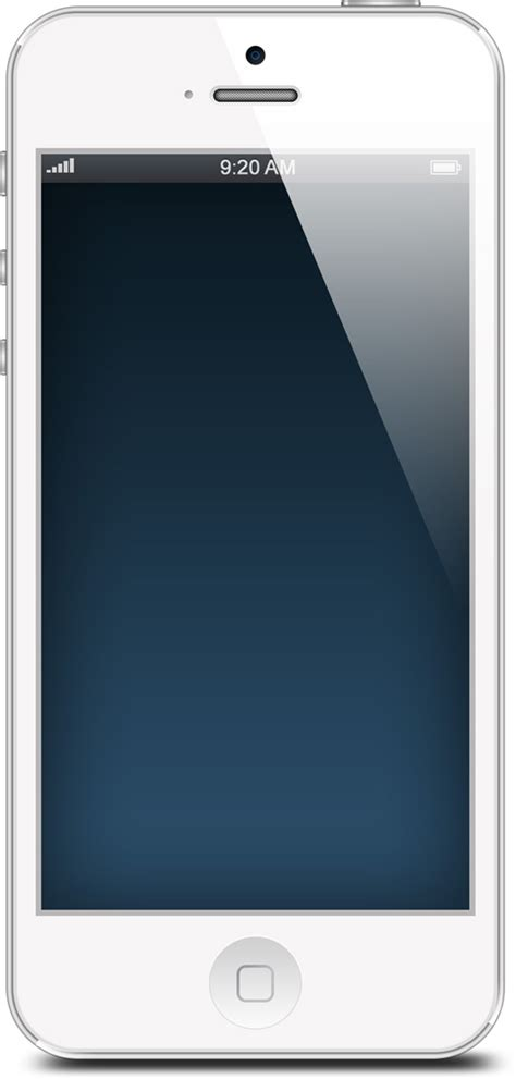 iphone screen template 20 free and realistic iphone 5 mockups to showcase
