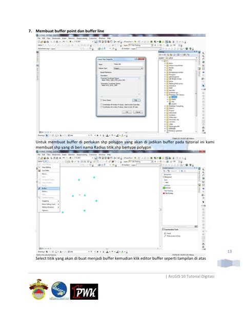 tutorial arcgis digitasi digitasi