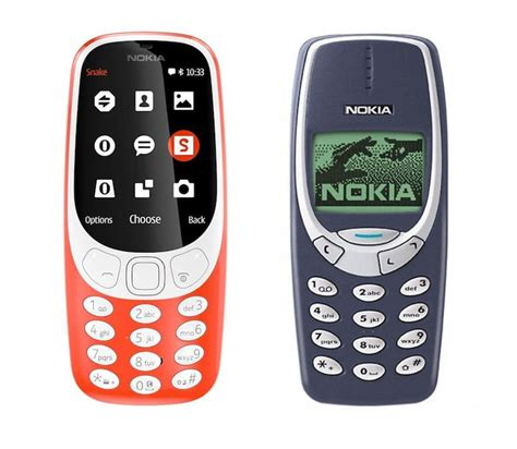 Nokia 3310 Classic classic nokia 3310 phone redesigned for 2017 brings snake