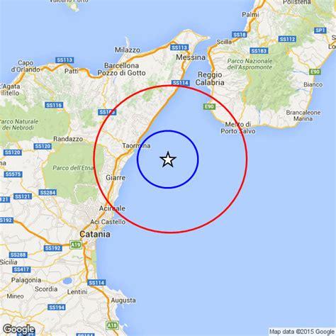 meteo giardini naxos domani terremoto sicilia siame sismico in mare scosse