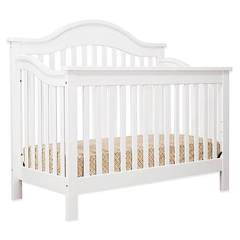 White Crib Convertible Davinci 4 In 1 Convertible Crib In White Www Buybuybaby