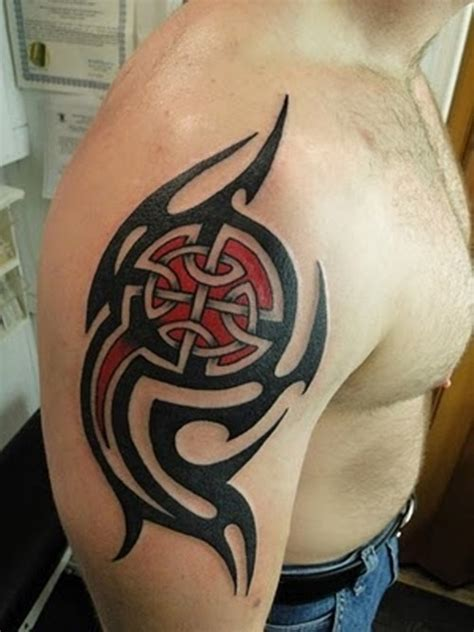 shoulder celtic tattoos for men tattoos for men