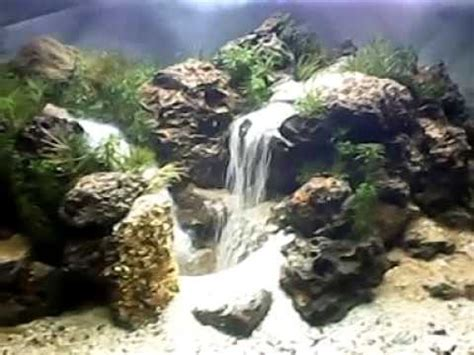 aquascape waterfall pangkalan limabekasi youtube