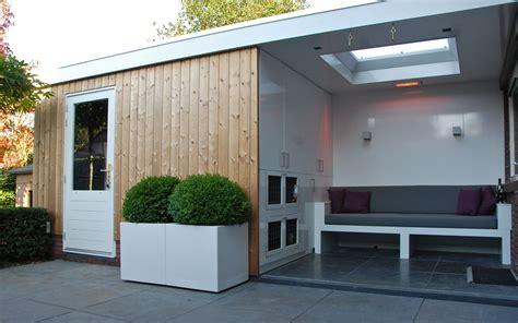 tuinhuis lounge tuinhuis met overdekte lounge in hoorn van veen