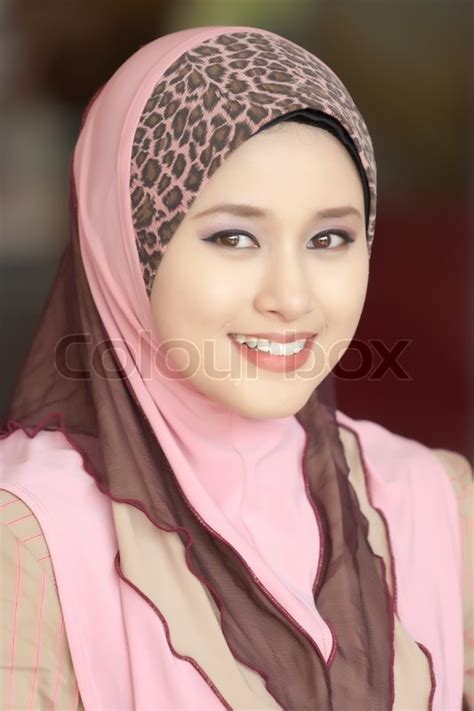 beautiful muslim beautiful muslim stock photo colourbox