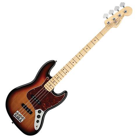 Bass Fender Jazz Sunbers fender american standard jazz bass mn 3 colour sunburst b stock at gear4music