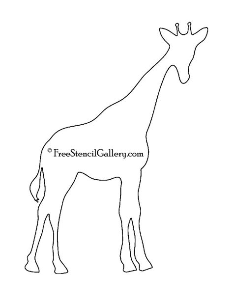printable giraffe templates 81 best stencils images on pinterest painting stencils