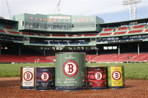 benjamin launches paint collection inspired by fenway park design news apartment therapy