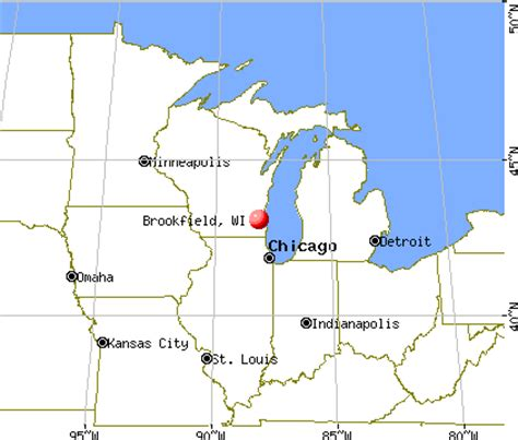 brookfield wisconsin wi profile population maps real