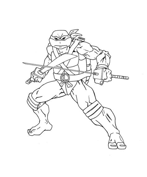 leonardo turtle coloring page free coloring pages of leonardo turtle