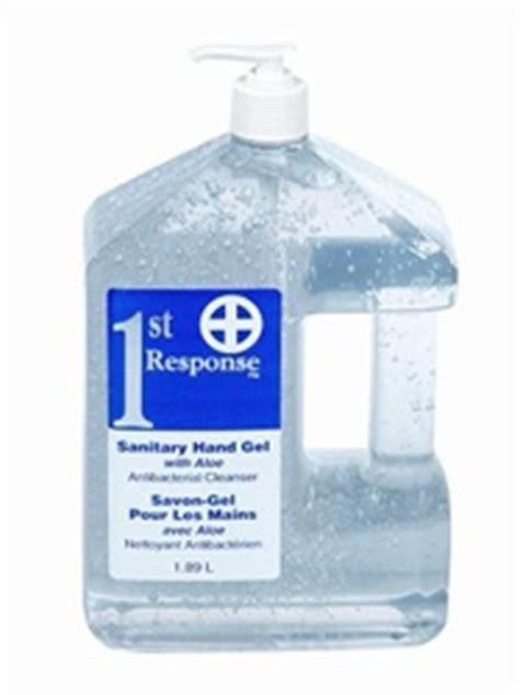 hand sanitizing gel  st response  bottles  alcohol based hand sanitizer