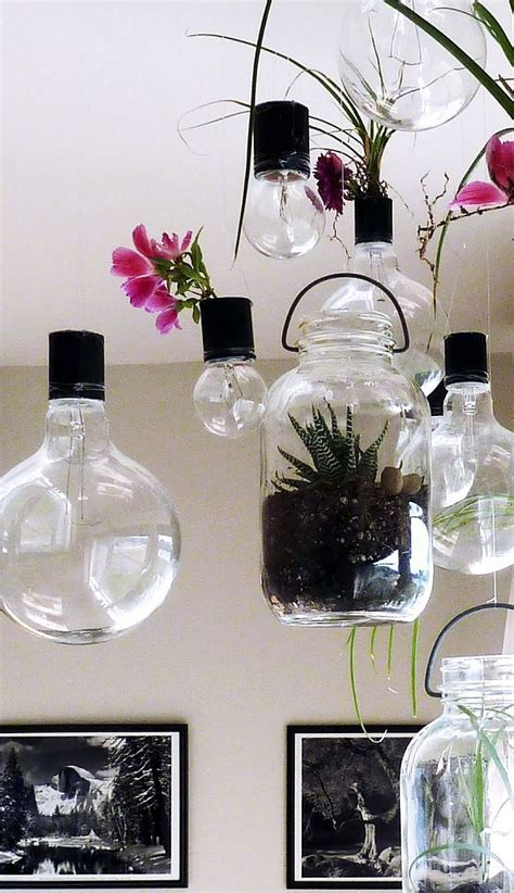 Light Bulb Planter Diy by Diy Hanging Planters That Will Make Your Home Fresher Than