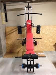 banc de musculation energetics multi 700 posot class