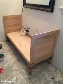 how to build a 60 quot diy bathroom vanity from scratch