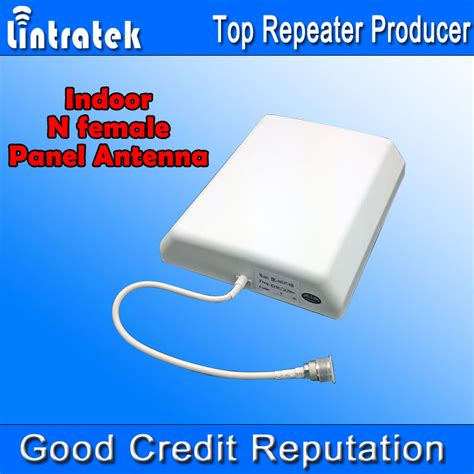 wholesale  mhz indoor panel antenna dbi  female cell phone booster antenna  mobile