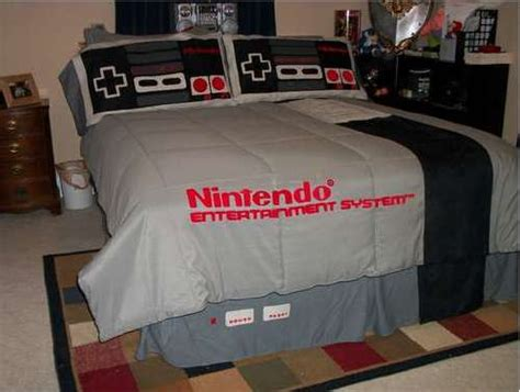 video game bed sheets video game duvets nes bedding set