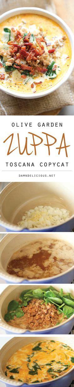 olive garden zuppa toscana copycat recipe best half and half or 1 cup evaporated milk recipe on
