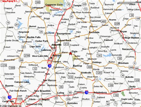 commerce texas map directions map