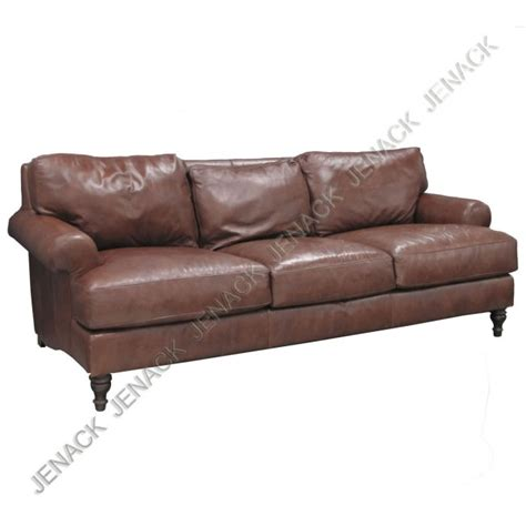 pottery barn leather sofa review 199 pottery barn brown leather sofa lot 199