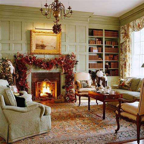 decorating in red 23 great home decor ideas style 40 traditional christmas decorations digsdigs