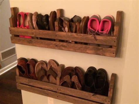 pallet shoe storage shoe rack rustic shoe rack pallet shoe rack rustic by