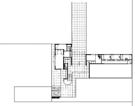 mies van der rohe floor plan mies van der rohe gerick house plan drawings pinterest