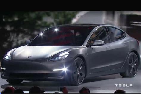 Tesla Motors Recent News We Finally Seen The Tesla Model 3 Insider Car News