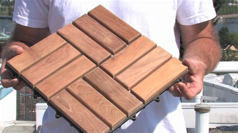How To Install Deck Tiles   YouTube