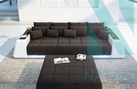 edles ledersofa big sofa vice bei nativo moebel schweiz guenstig kaufen