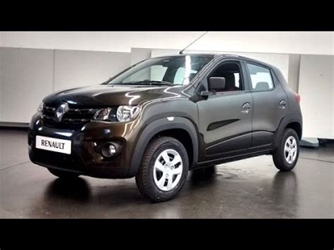 renault kwid black colour renault kwid colour grey real view youtube