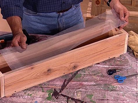 How To Build A Wooden Planter Box How Tos Diy How To Make Planters