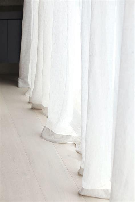 lange linnen gordijnen linnen decor gordijnen