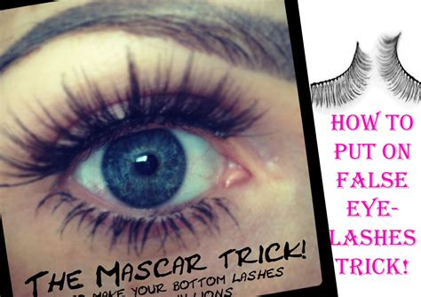 How To Apply The Best How To Put On False Eyelashes Trick