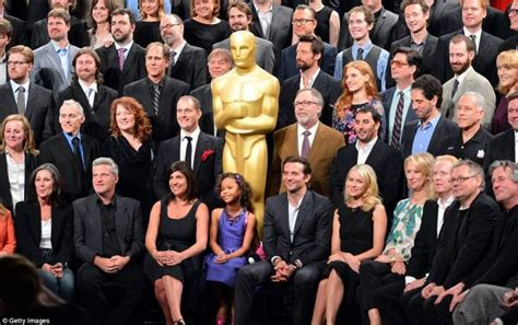 film premio oscar 2013 los nominados al oscar todos juntos antes de la entrega