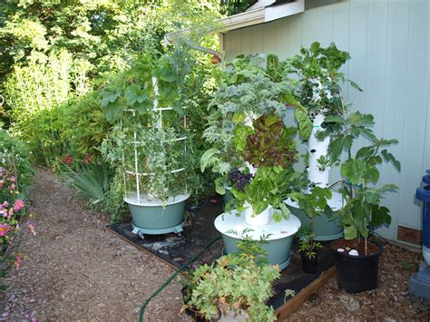 tower garden difference between organic and hydronponic