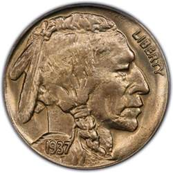 1937 buffalo nickel values and prices past sales