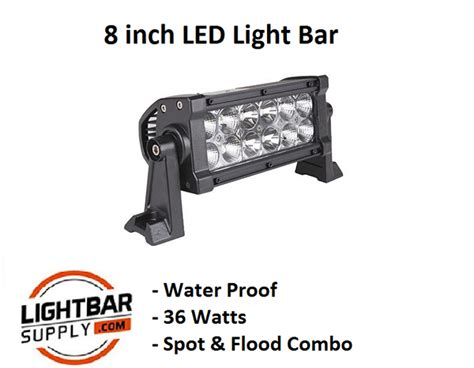 Led Light Bar Usa 8 Quot Led Light Bar Light Bar Supply