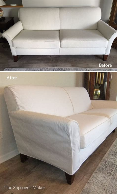 white sofa slipcover white slipcovers the slipcover maker