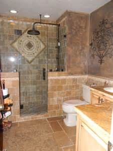 Baths And Showers For Small Bathrooms tuscan bath mediterranean bathroom tampa by