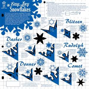 easy snowflake template of the press stencil template easy lacy snowflakes