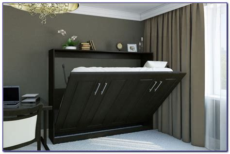 sideways murphy bed horizontal murphy bed with desk bedroom home design