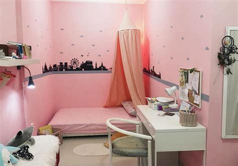 desain tembok kamar tidur remaja desain kamar warna pink rumah zee