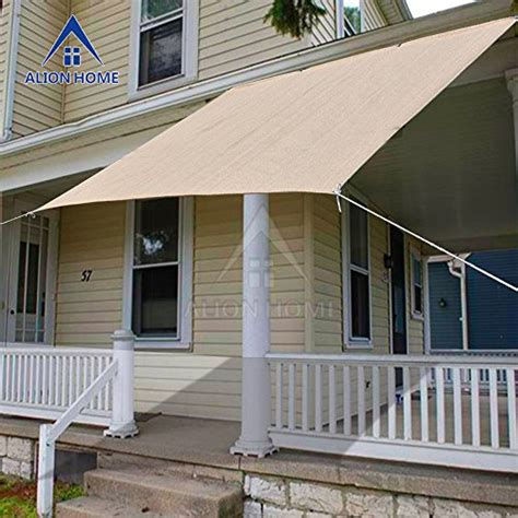 instant shade awning alion home sun shade panel for patio awning window cover