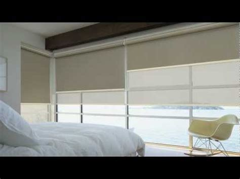 Room Corner by Luxaflex 174 Roller Blinds With Edge Technology Youtube