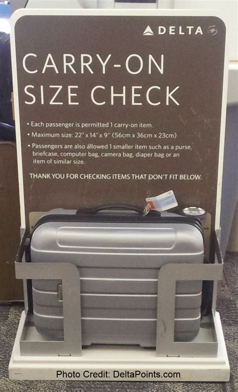 carry on fee delta air lines carry on size check box old sizewise 22 14