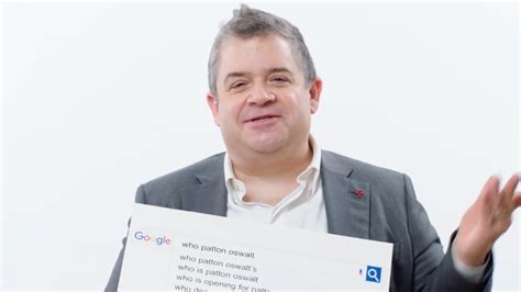 most googled questions patton oswalt answer the web s most searched questions