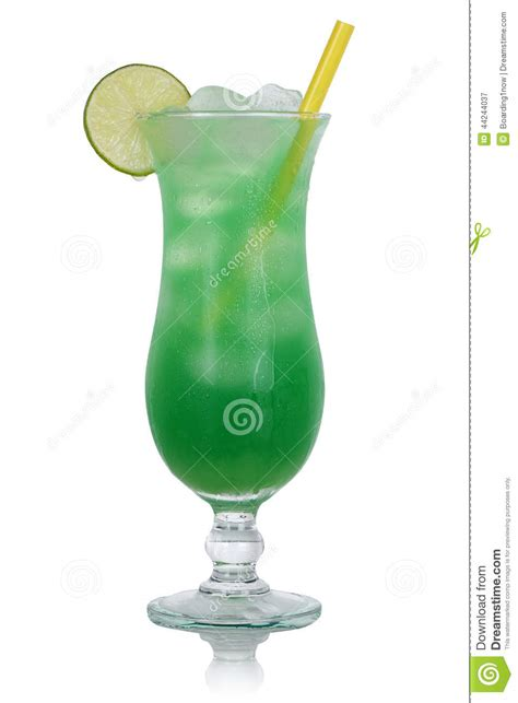 green cocktail black background green lime cocktail drink isolated stock photo image